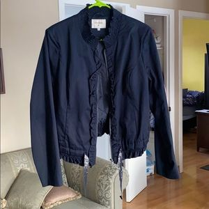 CREAM navy jacket worn 1 time only